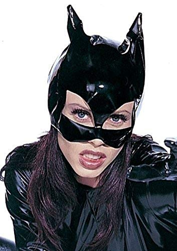 Carnaval Halloween Masque vinyle chat Catwoman
