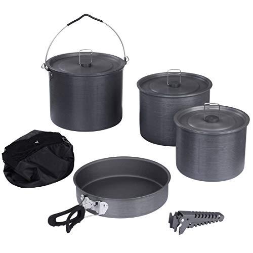 10T Outdoor Equipment Ranger VI + Pot et de poêles, Gris, XXL