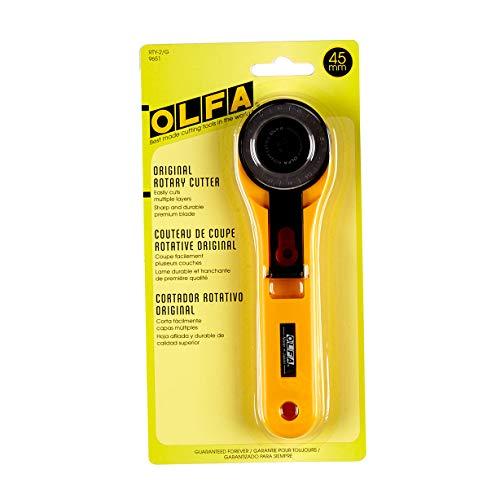 OLFA OLFA-9651 45mm Rotary Cutter, Each
