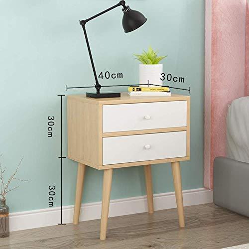 TXXM® Herstellung Holzwerknachttisch Nachttisch, Durable, Geeignet for Schlafzimmer Wohnzimmer, Etc. Praktische Möbel (Color : C)