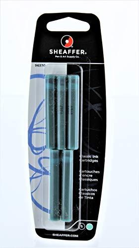 Sheaffer Classic - Cartuchos de tinta (5 unidades), color turquesa