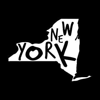 More Shiz I Love New York Vinyl Decal Sticker Car Truck Van SUV Window Wall Cup Laptop One 5.5 Inch Decal MKS0878