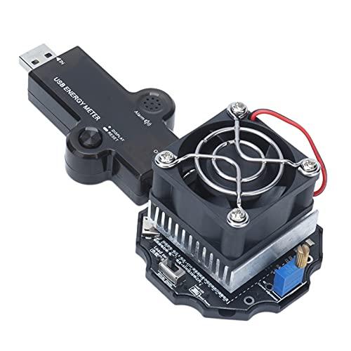 Teror Probador USB Bluetooth, Probador USB Bluetooth Voltímetro Amperímetro Detector Capacidad Monitor de Potencia Multímetro Digital LCD