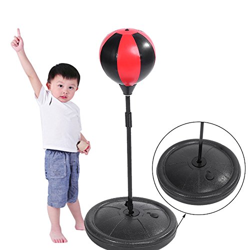 GOTOTOP Punchingball Set für Kinder, Standboxsack, Boxen Boxbirne + Boxhandschuhe
