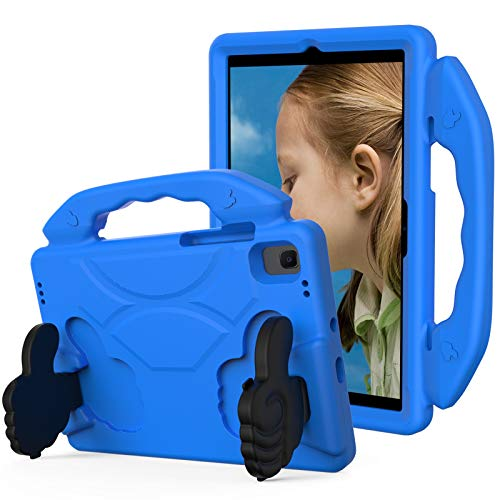 KATUMO Funda para niños para Samsung Galaxy Tab A7 10,4 Pulgadas Modelo 2020 (SM-T500 / T505 / T507), Funda Protectora Ligera de EVA a Prueba de Golpes para Tableta Galaxy Tab A7 10,4,Azul
