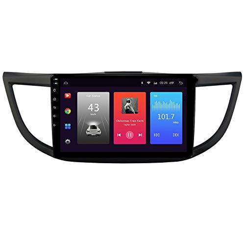 WHL.HH para Honda CRV Androide 9.0 Doble Estruendo 9 Pulgadas Auto Radio Video Multimedia Jugador GPS Navegación Estéreo Auto Cabeza Unidad Apoyo SWC Teléfono Control Video Receptor,WiFi+4G:2+32G