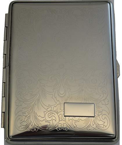HUMIDORO Zigarettenetui - Material: Metall - zeitlos elegant - für 18 Zigaretten
