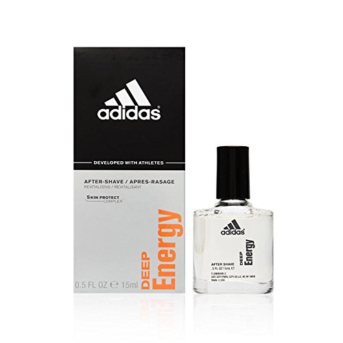 Adidas Deep Energy by Coty for Men 0.5 oz After Shave Pour