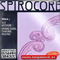 CUERDA VIOLA - Thomastik (Spirocore/S22) (Cromo) 4ェ Medium Viola 4/4