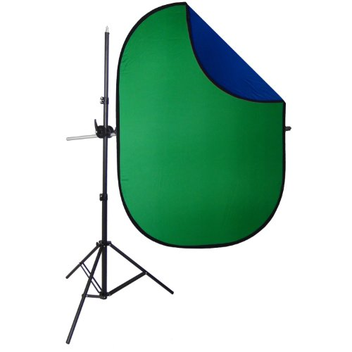 DynaSun Profi Greenscreen/Bluescreen Kit 2in1