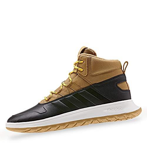adidas EE9708 Fusion Storm WTR Herren Sneakerboots aus Nylonmesh mit Warmfutter, Groesse 40, schwarz/Hellbraun