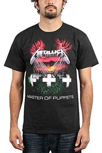 Metallic Master of Puppets mannen T-shirt zwart, Undefiniëerbare Band-Merch, Bands