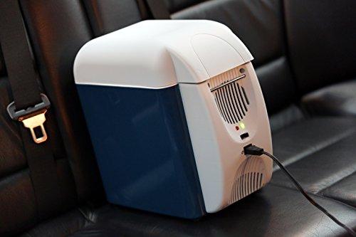 LGVSHOPPING Borsa Termica elettrica Frigorifero 7,5L Portatile Mini frigo Auto da Viaggio Caldo Freddo con Tracolla