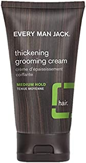 Every Man Jack Thickening Grooming Cream Tea Tree -- 5 oz
