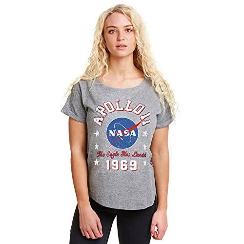 Nasa 1969 Camiseta, Graphite Grey, Large...
