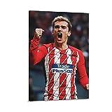 Shuangyou Antoine Griezmann Poster mit Fußballstern-Motiv,