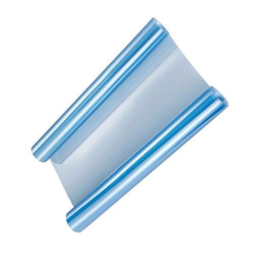 VORCOOL 30 x 100cm Pellicola Adesiva Blu per Cambiare Colore fari fanali Posteriori Anteriori Faro fendinebbia Stop della Auto Moto Motocicletta