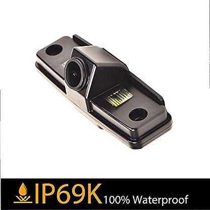 170-HD-Kamera-1280x720p-Wasserdicht-Nachtsicht-Kennzeichenleuchte-Rueckfahrkamera-Distanzlinien-Umschaltbar-Einparkhilfe-fuer-Subaru-Impreza-MK3-WRX-SedanOutbackForesterSTi-Sedan