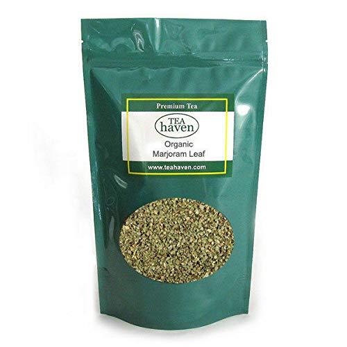 Organic Marjoram Leaf Herb Tea Origanum Marjorana Herbal Remedy - 8 oz bag