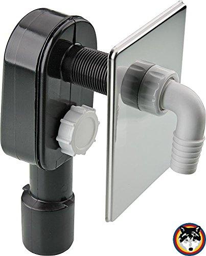 Sanitaer PE-Unterputz-Geräte-Siphon DN40 DN50 UP Sifon Siphon Abwasser Unterputzsiphon Wandeinbau Unterputz Waschmaschine Spülmaschine