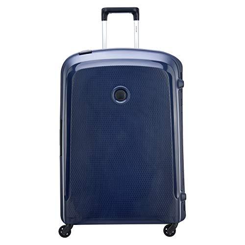 Delsey Paris Belfort 3 Koffer, 82 cm, 143 Liter, Blau