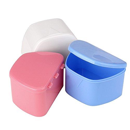 Gaddrt Denture Bath Storage Container False Teeth Storage Box Non-toxic...