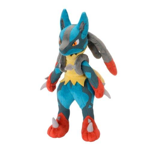 Pokémon Centre Mega Lucario Peluche, 27,9cm (Grande)
