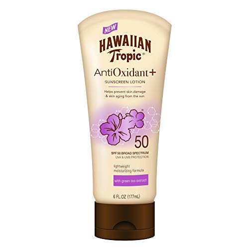 Hawaiian Tropic AntiOxidant+ Sunscreen Lotion