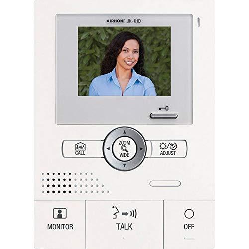 Aiphone JK-1HD Audio/Video Sub-Master Station for JK Series Intercom System Color Sub Master Station