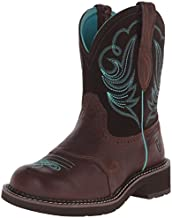 Ariat Women's Fatbaby Collection Western Cowboy Boot, Royal Chocolate/Fudge, 9 B(M) US