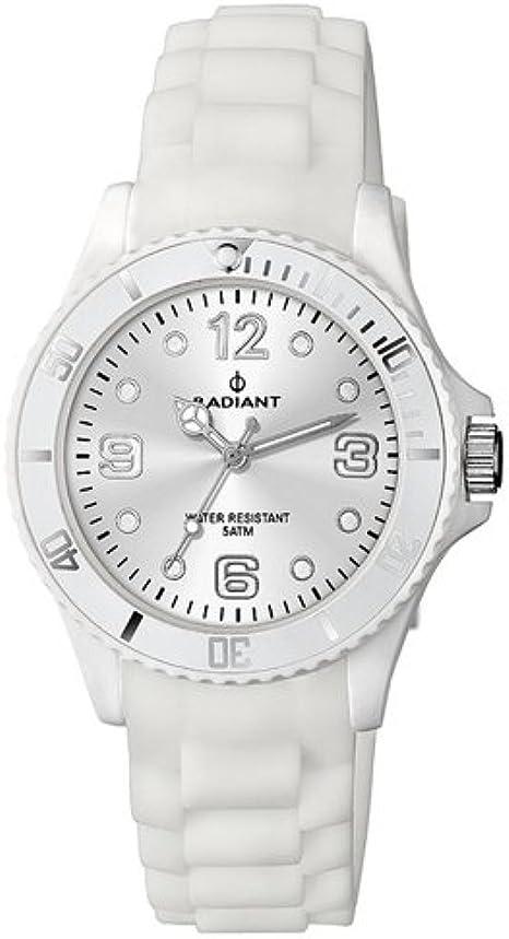 Radiant new Teen Reloj para Hombre Analógico de Cuarzo con Brazalete de Silicona RA193612