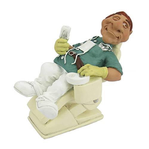 Funny Job - Zahnarzt liegt selbst im Stuhl