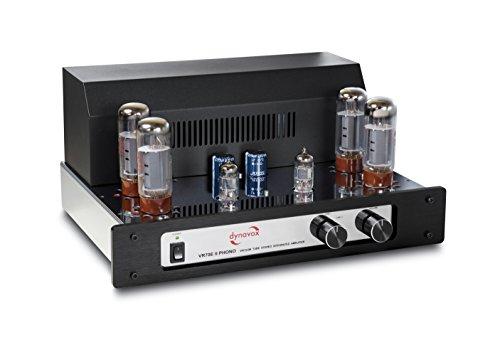 Dynavox VR-70 E II Phono-Röhrenvollverstärker chrom