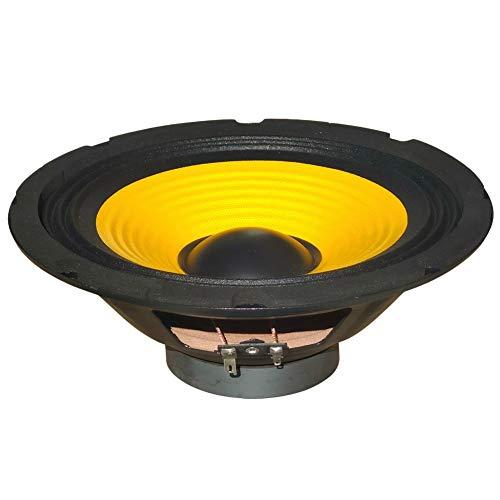 """1 woofer PLUG & SOUND W-088 altoparlante medio basso 20,00 cm 200 mm 8"""" da 75 watt rms 150 watt max impedenza 8 ohm per casa, 92 db, 1 pezzo"""