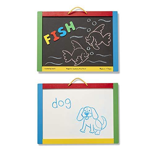 Melissa&Doug magnetische Tafel/trocken abwischbares Brett | entwicklungsförderndes Spielzeug | magnetische Aktivitäten | 3+ | Geschenk für Jungen oder Mädchen