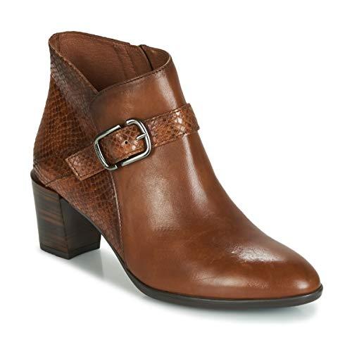 HISPANITAS RITA Enkellaarzen/Low boots dames Bruin Enkellaarzen