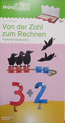 miniLÜK-Übungshefte: miniLÜK: Vorschule/1. Klasse - Mathematik: Von der Zahl zum Rechnen