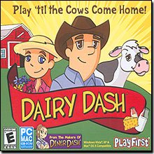 PlayFirst Dairy Dash for WIN/MAC for Age - All Ages (Catalog Category: PC Games / Strategy)