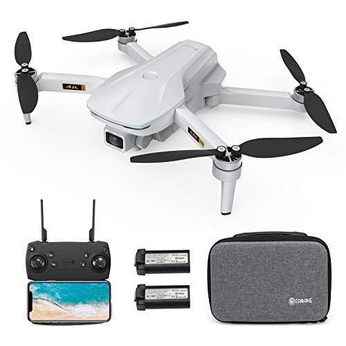 EACHINE EX5 Drohne mit Kamera 4K GPS 5G WiFi FPV 60 Min. Flugzeit Brushless 229g Ultraleichte Faltdrohne Verfolgermodus Automatische Rückkehr Gestenerkennung OptischePositionierung Einstiegsdrohne