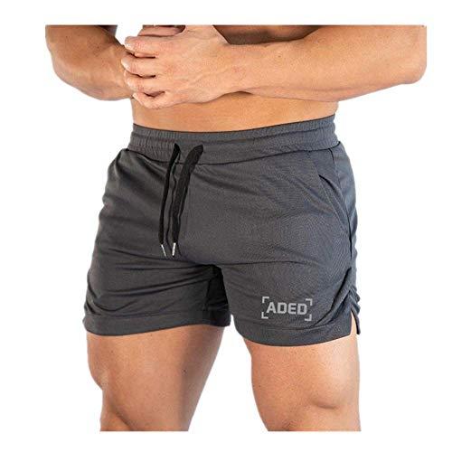 N\P Casual Verano Hombres Jogging Deportes Pantalones Cortos De Entrenamiento De Fitness De Secado Rápido Masculino Entrenamiento Jogger Gimnasio Cor