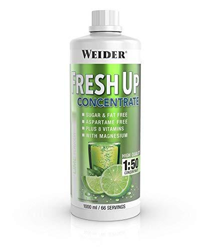 Weider Fresh Up Getränkekonzentrat, Limette, zuckerfrei mit Vitaminen und Mineralstoffen, 1 Liter