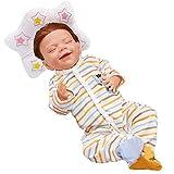 CHENGRR MuñEca Reborn Realista, 18 Pulgadas Bebes Reborn Silicona - Baby Reborn - Regalo De CumpleañOs para NiñOs
