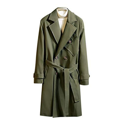 Purchase Letdown_Men Hoodies Men Pea Coat Slim Fit Winter Warm Solid Windbreaker Business Suits Jack...
