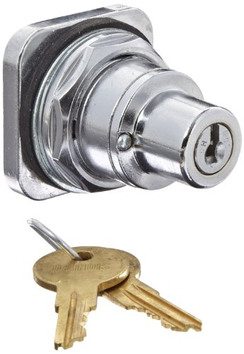 Siemens 52SC6CE Heavy Duty Key Operated Selector Switch, Water and Oil Tight, 3 Positions, Maintained Operation, All Positions Key Removal Position, 501CH Lock Number, C Cam Code