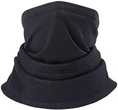TAGVO Winter Fleece Neck Warmer, Thick Long Neck Gaiter Tube, Windproof Balaclava Beanie Neck Warmer Hood Elastic Universal Size