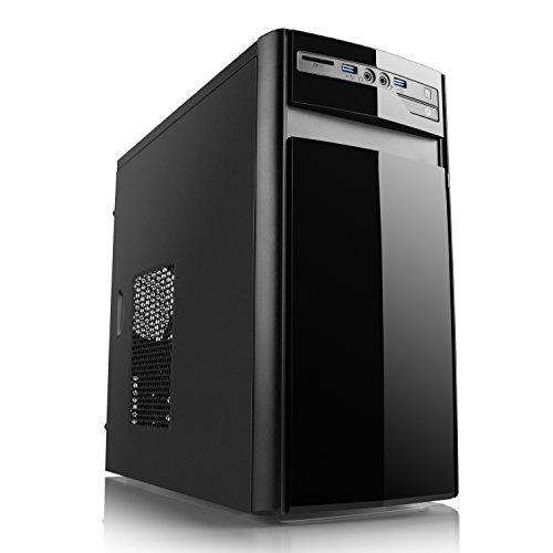 CSL Aufrüst-PC 528 - Intel Quad-Core 4X 2300 MHz, Intel HD Grafik, Gigabit LAN, USB 3.1, ohne Betriebssystem