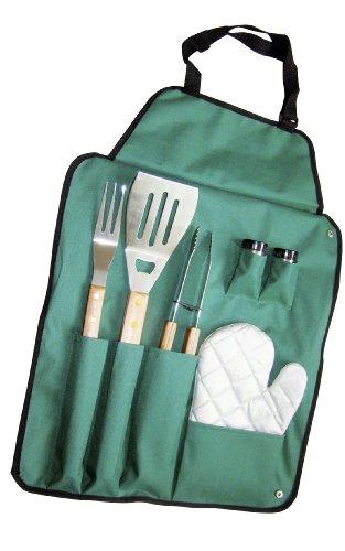 kit d'outils Papillon barbecue accessoires complets en acier et en bois