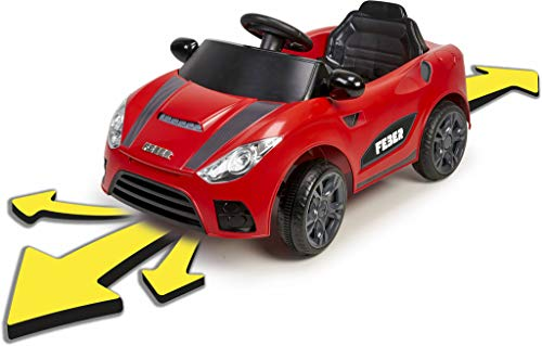 FEBER - My Real Car 6V CE, primer coche a batería para jugar a arreglarlo, con diferentes funciones, un panel de averías y accesorios, para niños y niñas a partir de 3 años, FAMOSA (800012444)