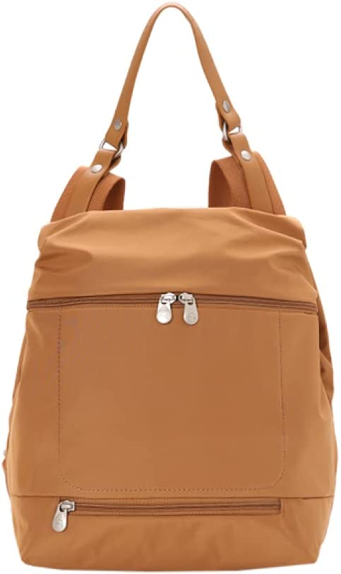 2021 Style Large Capacity Backpack Women's Travel Backpack Fashion Casual Lightweight Italy Backpack Handbag,Brown 01,As shown