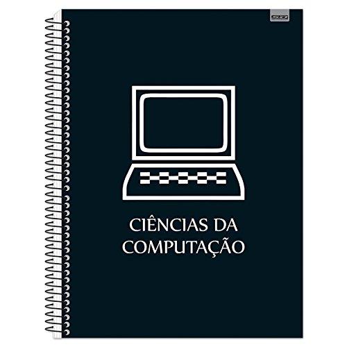 CADERNO UNIVERSITARIO CAPA DURA 10X01 200FLS CIENCIAS DA COMPUTACAO S.D